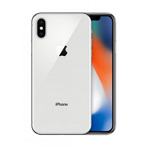 Apple iPhone X 256GB Silver - B
